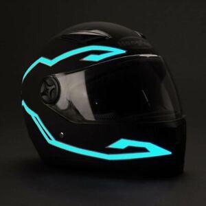 Light Strip Signal Sticker Motorcycle Accessories Motorcycle Helmet Light Strip