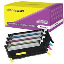 4x Toner Cartridges for Samsung CLP320 CLP325 CLP325W CLX3185 CLX3186