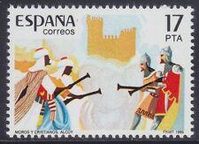 SPAIN 1985 - FESTA DEI MORI E DEI CRISTIANI A ALCOY - P. 17 - MNH