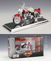 MAISTO 1:18 Harley Davidson 1962 FLH Duo Glide MOTORCYCLE BIKE MODEL Toy NIB