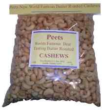 5 LB JUMBO SUPER SIZE BAG OF WORLDS BEST TASTING BUTTER CASHEWS-VOTED BY PEOPLE