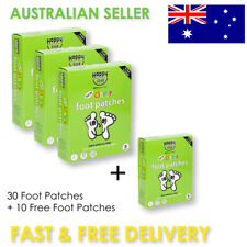 Happy Feet foot patches Box 10 - Buy 3 Get 1 Free