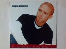 SERGIO DELANUA' La tua immagine dentro di me cd singolo PR0M0 RARISSIMO