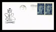 US NAVAL COVER USS LAPON COMMISSION NEWPORT NEWS VIRGINIA