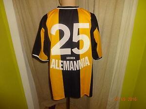 """Alemannia Aachen Original Nike Matchworn Trikot 2000/01 """"Arei"""" + Nr.25 Gr.XL TOP"""