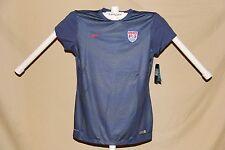 Team Usa Soccer Nike Dri-Fit Jersey Womens Medium size 8-10 Nwt navy