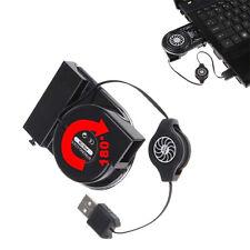 Mini Vacuum USB Cooler Aire Extracción Base Enfriadora Ventilador