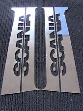 4 pcs. Door Pillars for SCANIA R/L/P Series Made Of Polished Stainless Steel
