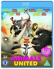 ANIMALS UNITED - 3D + 2D - BLU RAY - NEW / SEALED  - UK STOCK