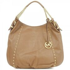 Michael Kors Tan Leather Snake Print Chained Hand/Shoulder Bag -Ideal Gift