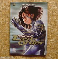 Comic, Gunnm Last Order, número 6, Yukito Kishiro, Planeta DeAgostini, año 2004