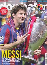 Don Balon No. 1857 - 2011 Champions League Final Celebration - Spanish Magazine