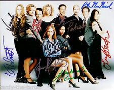 Ally Mcbeal Cast 8 x 10 Autograph Reprint 10 Autographs