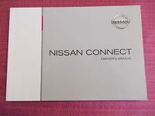 Nissan Connect Manual de audio y navegación Sat Nav MICRA NOTE QASHQAI (yjl 575+)