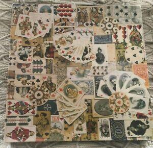Dealer's Delight Vintage Puzzle Springbok 500+ Pieces VGUC Hallmark 20.25 Sq Inc