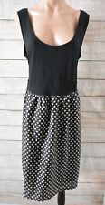 City Chic Dress Plus Sz Large XL 18 20 Black White Shift Dress