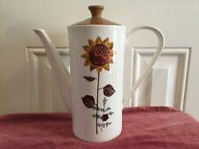 Lord Nelson Pottery Sunflower Design Coffee Pot / Tea Pot