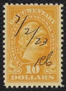 #R245 $10 Documentary: Liberty, Used [7] **ANY 5=FREE SHIPPING**