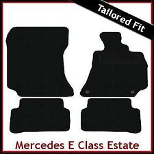 Tailored Carpet Floor Mats for MERCEDES E-Class Estate S212 2009-2016 BLACK
