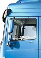"DAF TRUCK ""GO IN STYLE""  X2  WINDOW DECAL STICKER MATTE FINISH LOGO XF CF LF"