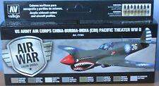 Vallejo Modelo Air VAL71184 Segunda Guerra Mundial USAAF CBI y conjunto de pintura de color de teatro del Pacífico 8