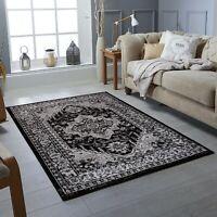 Traditional Vintage Style Area Rug Oriental Design Faded floor Carpet mat