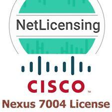 Cisco Nexus 7004 License, Original and Permanent, E-Delivery