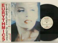 Eurythmics - Be Yourself Tonight LP 1985 Japan RPL-8290 Electronic Pop w/ obi