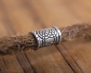 2 x Stainless Steel Dreadlock Beads 6mm Hole (1/4 Inch) Dread / Beard Beads