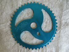 PROFILE 44 SPROCKET BUZZ SAW BMX RACING CRUISER BLUE CHAIN RING VINTAGE