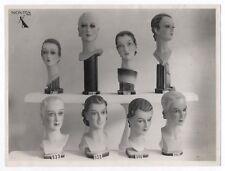 PHOTO MANNEQUIN FEMME NOVITA Surréalisme Surréaliste Tête Buste 1930 Curiosité