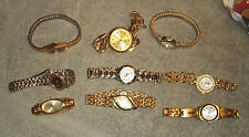 WOMEN'S WATCH LOT OF 9 - PIERRE CARDIN, LEI, CHANTILLY, ALTO + MORE