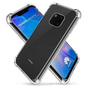 TPU Luxury Shockproof Clear Case Cover For Huawei Mate20 P20 Lite P30 P40 Pro Y7