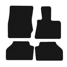 BMW X3 F25 2010 - 2017 Black Floor Tailored Rubber Car Mats