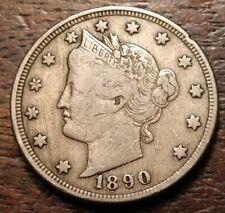 1890 Liberty Nickel 3389