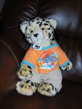 Build A Bear Workshop WWF Leopard / Cheetah Wild Jungle Cat