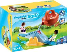 Playmobil 1.2.3 Aqua 70269 Water Seesaw with Watering Can 18+ M