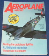 AEROPLANE MONTHLY MARCH 1986 - TESTING THE PROTYPE SPITFIRE