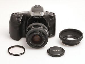 Minolta Dynax 300si mit Minolta 35-70 mm Zoom