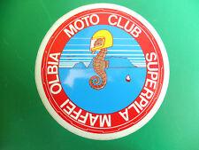 MOTO CLUB OLBIA SARDEGNA ITALY ADESIVO STICKER Motorcycle Club Motorradverein