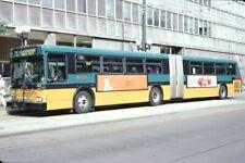King County Metro New Flyer Bus Kodachrome original Kodak Slide