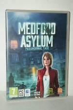 MEDFORD ASYLUM PARANORMAL CASE USATO OTTIMO PC DVD VERSIONE ITALIANA RS2 45783