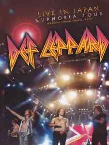 Def Leppard - Live in Japan  DVD