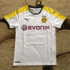 Borussia Dortmund BVB Puma White Jersey Large NWT MSRP $90.00