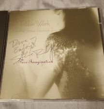 Robin Work & the Steve Rudolph Trio Pure Imagination CD AUTOGRAPHED