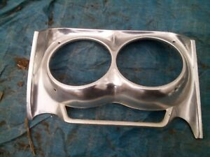Left Driver Headlamp Door Trim Cover Bezel 1962 Impala Bel Air Biscayne 18985
