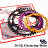 104bcd 30-52T Narrow Wide Chainring MTB Road Bike Crankset Chainwheel Chainset