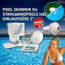 Pool Einbauskimmer Classic 145 Stahlwandpool inkl. Einlaufdüse