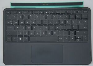 HP UK Keyboard Dock for Pavilion X2 10-k0xx K007NA K008NA K010NR Green