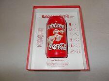 Hasbro collectors edition Coca Cola Yahtzee game boxed complete travel container